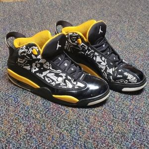 Black & Yellow Jordan Dub Zero